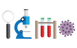 Medical research background. Royalty Free Stock Photography