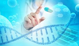 Medical research concept background Stock Photography