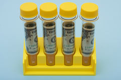 Medical Research Costs Royalty Free Stock Image
