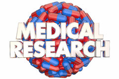 Medical Research Medicine Capsules Pills Find Cure Stock Photos