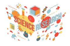 Medical research vector illustration vector illustration