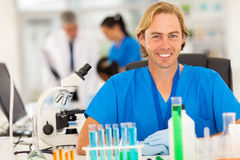 Medical researcher lab Royalty Free Stock Photo