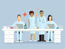 Medical researchers Stock Images