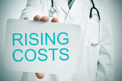 Medical rising costs Royalty Free Stock Photography
