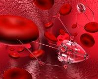 Medical robot royalty free illustration