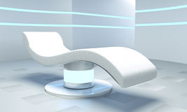 Medical room of the future Stock Photo
