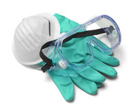 Medical Safety Gear Royalty Free Stock Photography