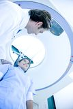 Medical scan Stock Images