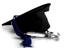 Medical School graduation Stock Photo