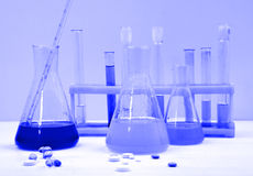 Medical science equipment Stock Photography