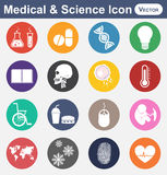 Medical and Science icon. Medical & Science icon ( flat design Royalty Free Stock Photos