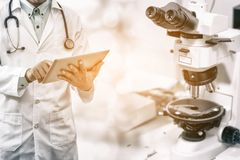 Medical science research concept. royalty free stock photo