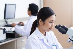 Medical scientific researcher Stock Photo