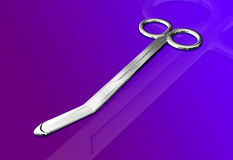 Medical Scissor Stock Photography