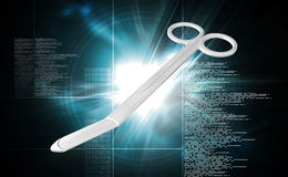 Medical Scissor Royalty Free Stock Image