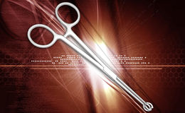 Medical scissor Royalty Free Stock Photo