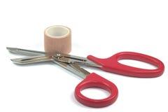 Medical scissors stock image