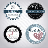 Medical seals Stock Images