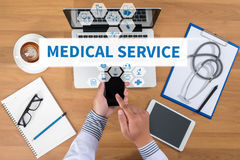 MEDICAL SERVICE Stock Image