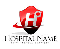 Medical Services Logo Royalty Free Stock Photos