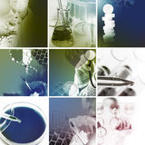 Medical services photo collage Royalty Free Stock Photos
