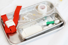 Medical set. For patient in hospital Royalty Free Stock Image