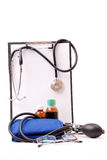 Medical set - first aid Royalty Free Stock Image