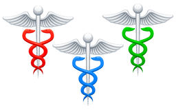 Medical sign. Three icons of medical sign Stock Image