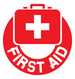 Medical sign. First aid medical sign, help icon, pharmacy cross icon, first aid button, medical cross Stock Photos