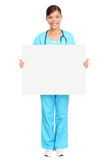 Medical sign nurse Stock Photos