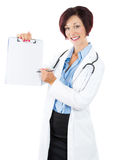 Medical sign, patient's informed consent, contract, agreement. Stock Photography