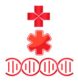 Medical signs Stock Images
