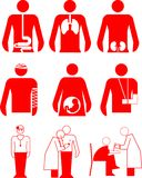Medical signs Stock Photo