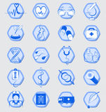 Medical signs and Icons Stock Images