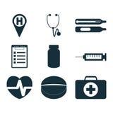 Medical signs set Stock Image