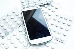Medical Smartphone Royalty Free Stock Images