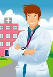 The Medical Specialist Royalty Free Stock Images