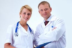 Medical specialists Stock Photos