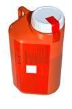 Medical Specimen Bottle stock photography