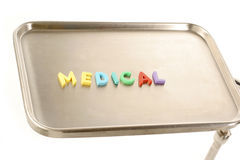 Medical spelled out Stock Image