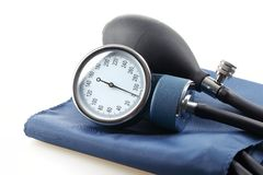 Medical sphygmomanometer Royalty Free Stock Image