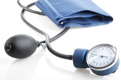 Medical sphygmomanometer Stock Photo
