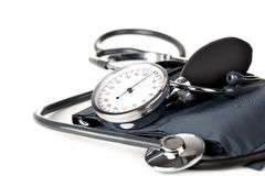 Medical sphygmomanometer Stock Images