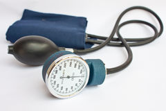 Medical sphygmomanometer for pressure control Royalty Free Stock Images