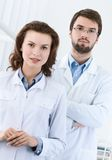 Medical staff. Is waiting for the patient, white background Stock Photography