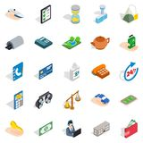 Medical staff icons set, isometric style. Medical staff icons set. Isometric set of 25 medical staff vector icons for web isolated on white background Royalty Free Stock Image