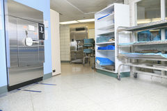 Medical sterilizing in the hospital Royalty Free Stock Photo