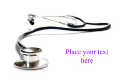 Medical stethoscope Stock Photo