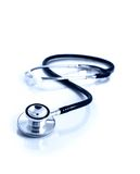 Medical stethoscope. Closeup of a medical stethoscope Royalty Free Stock Image