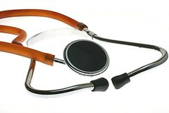 Medical Stethoscope. Isolated medical stethoscope Stock Photos